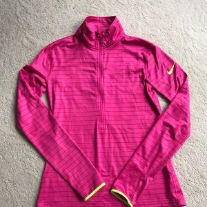Nike Pro Long Sleeve Top-Hot Pink